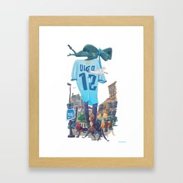 Sireno Celeste Framed Art Print