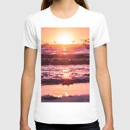 Mission Bay Shoreline in San Diego, California T-shirt