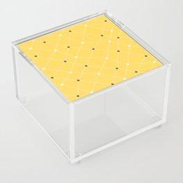 Chemistry Class Doodles - Yellow Acrylic Box