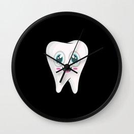 Tooth Dentist Wall Clock
