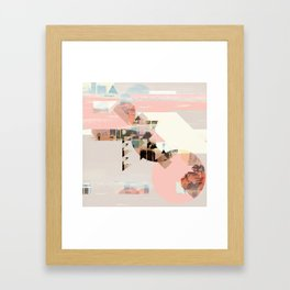Left Behind Framed Art Print