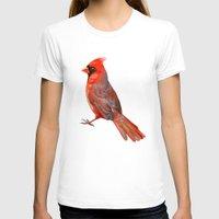 cardinal T-shirts featuring Cardinal by Freeminds