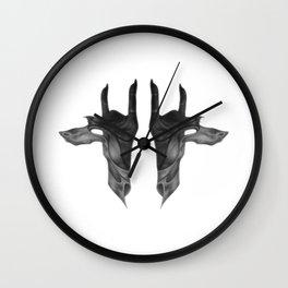 Hands of Anubis Wall Clock