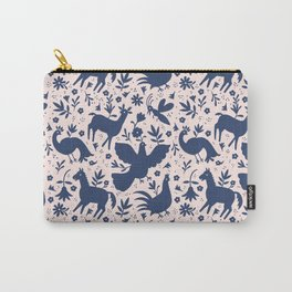 Otomi ink on blush Carry-All Pouch