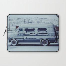Snowy Van - Sheridan, WY Laptop Sleeve