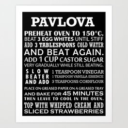 Pavlova Art Print