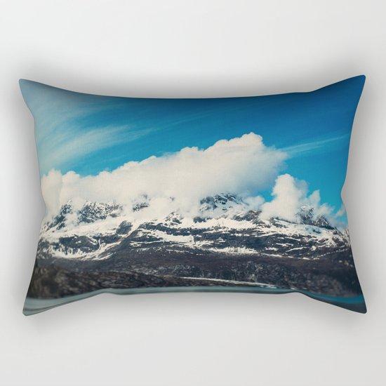 Alaska Mountain Rectangular Pillow