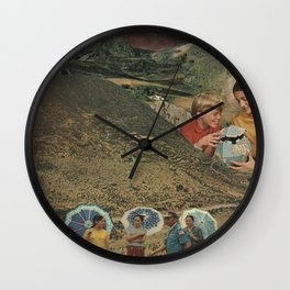 Waiting for Answers Wall Clock