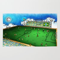 brasil Area & Throw Rugs featuring Brasil by Henrique Abreu