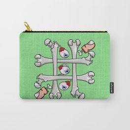 Halloween Tic Tac Toe Carry-All Pouch