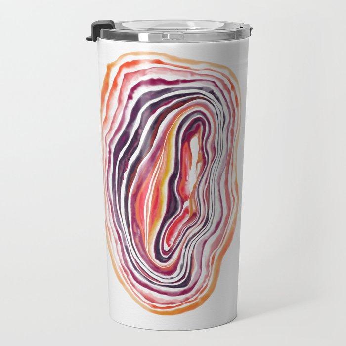 """Geode Series: """"Heatwave"""" Travel Mug"""