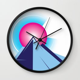 Colorado Sunset Wall Clock