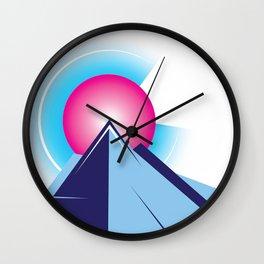Colorado Sunset Wall Clock