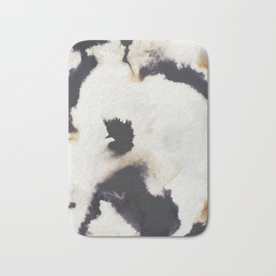 Ink and coffee Bath Mat