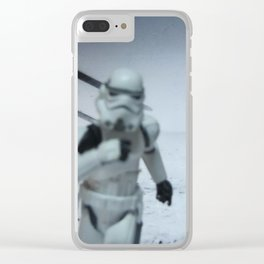 """""""North-by-Northwest"""" Part III Clear iPhone Case"""