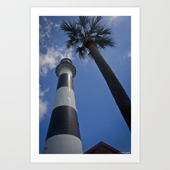 Cape Canaveral Lighthouse Art Print