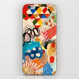 Wallpaper and Diamonds Part I iPhone Skin