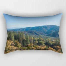 Fall Sunrise Photography Print Rectangular Pillow
