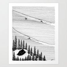 Secret Spot Art Print