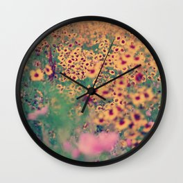 Mellow Meadow Wall Clock