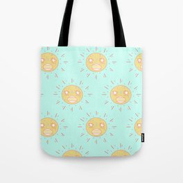 Upset Suns Tote Bag