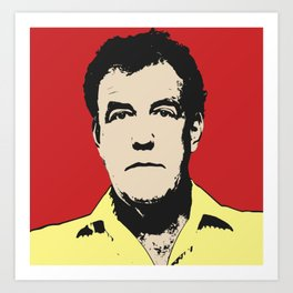 Jeremy Clarkson Pop Art Art Print