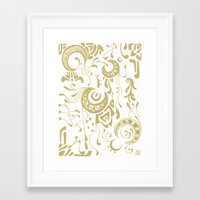 nouveau Framed Art Prints featuring Nouveau by CyberneticGhost
