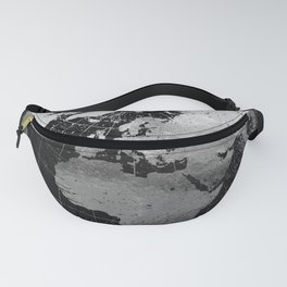 Old Metal Chart of the Earth Fanny Pack