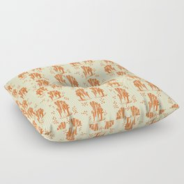 Marine corals Floor Pillow