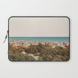 Where The Land Meets The Sea Laptop Sleeve
