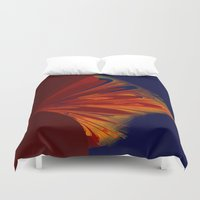 arrow Duvet Covers featuring arrow by donphil