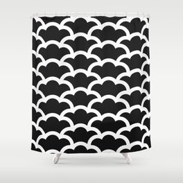 Japanese Clouds Shower Curtain