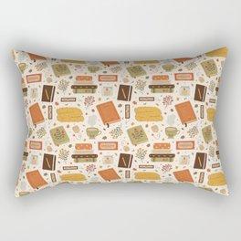 Cozy Reading Time Rectangular Pillow