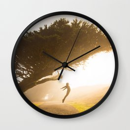 fly fly away Wall Clock