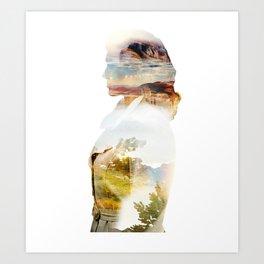 The Rear Window Art Print