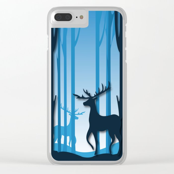 Night Life Clear iPhone Case
