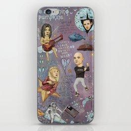 The Pumpkins - Spaceboy's Mellon Collie Dream iPhone Skin