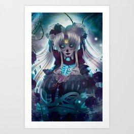 Sailor Muerte Art Print