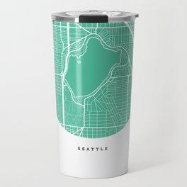 Green Lake, Seattle Travel Mug