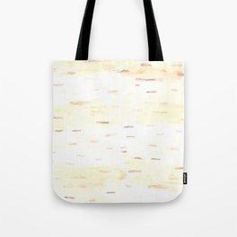 Birch Bark Watercolor Tote Bag
