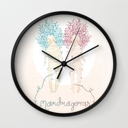 Mandrágoras Wall Clock