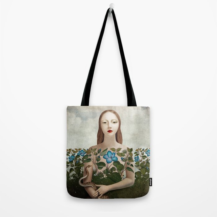 Eva and the Garden Tote Bag