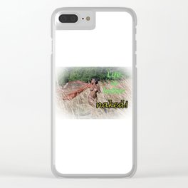 Harley - Life is Better Naked Clear iPhone Case