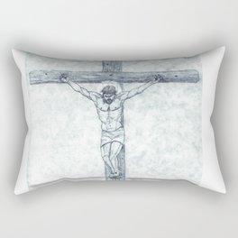 I preach Christ & Christ Crucified Rectangular Pillow