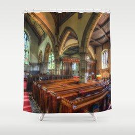 St Peter And St Paul Church Headcorn Kent Shower Curtain