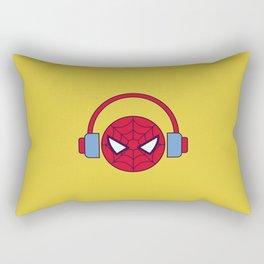 Spider-man Homecoming Minimalist Poster - Headphones Rectangular Pillow