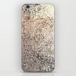 Sparkling GOLD Lady Glitter #1 #decor #art #society6 iPhone Skin