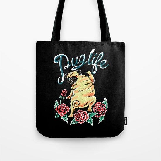 Puglife Tattoo Tote Bag