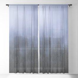 Foggy Forest Sheer Curtain