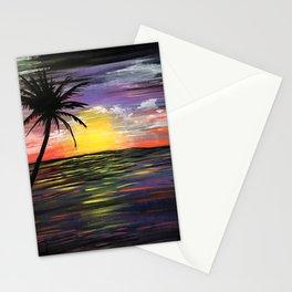 Sunset Sea Stationery Cards